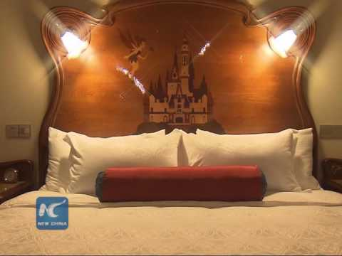 A peek at Shanghai Disneyland Hotel