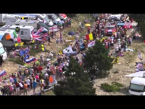 Tour de France 15. etapa 14.07.2013: posledních 15,5 km - 1080p - český zvuk