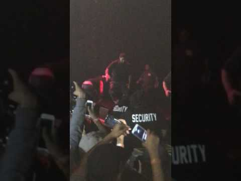 Rob Stone's mans knocks out Xxxtentacion live San Diego