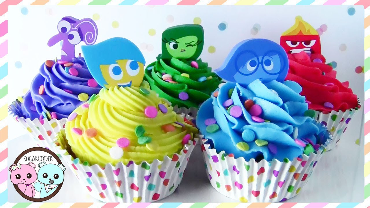 Image result for inside out CUPCAKES