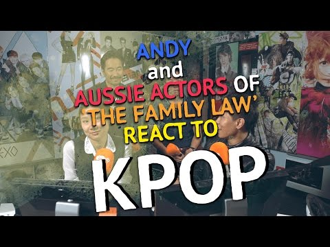 Aussie actors from 'The Family Law' react to Asian Pop