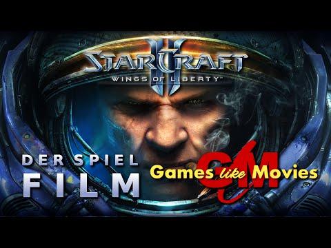 STARCRAFT II - WINGS OF LIBERTY - Der SPIEL-FILM [PC][deutsch][FullHD]
