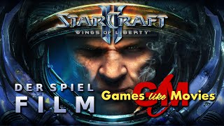 STARCRAFT II - WINGS OF LIBERTY - Der SPIEL-FILM [PC][deutsch][FullHD]