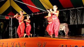 Classical Indian Dance at the 2011 Atlanta Ratha Yatra Festival