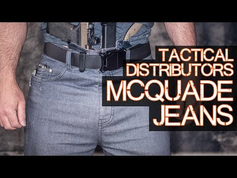 Tactical Distributors McQuade Jeans Review - Tactical Pants
