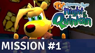 TY the Tasmanian Tiger 3: Night of the Quinkan PC - 100% Walkthrough (1080p/60 FPS) - Mission #1