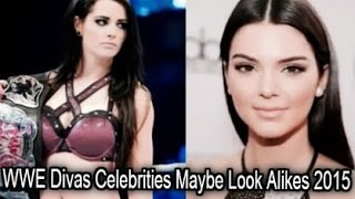 WWE Divas Celebrities Maybe Look Alikes 2015