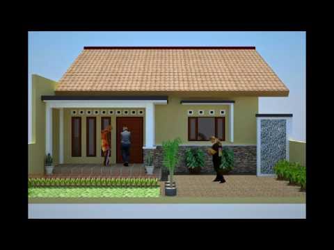 HOT Desain Rumah Minimalis Anggaran 50 Juta