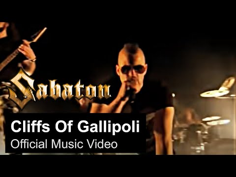 SABATON — Cliffs Of Gallipoli (Official Music Video)
