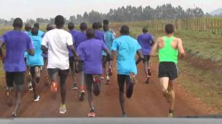 Kenyan Workout in Iten