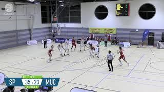 Julius Düh #33 - FC Bayern Basketball 2 @ Speyer |ProB 2019-20