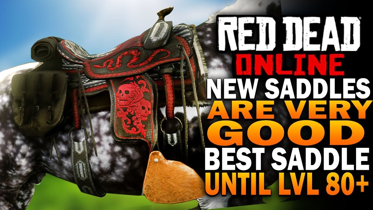 Red Dead Online Update! New Best Saddle You Need To Get!