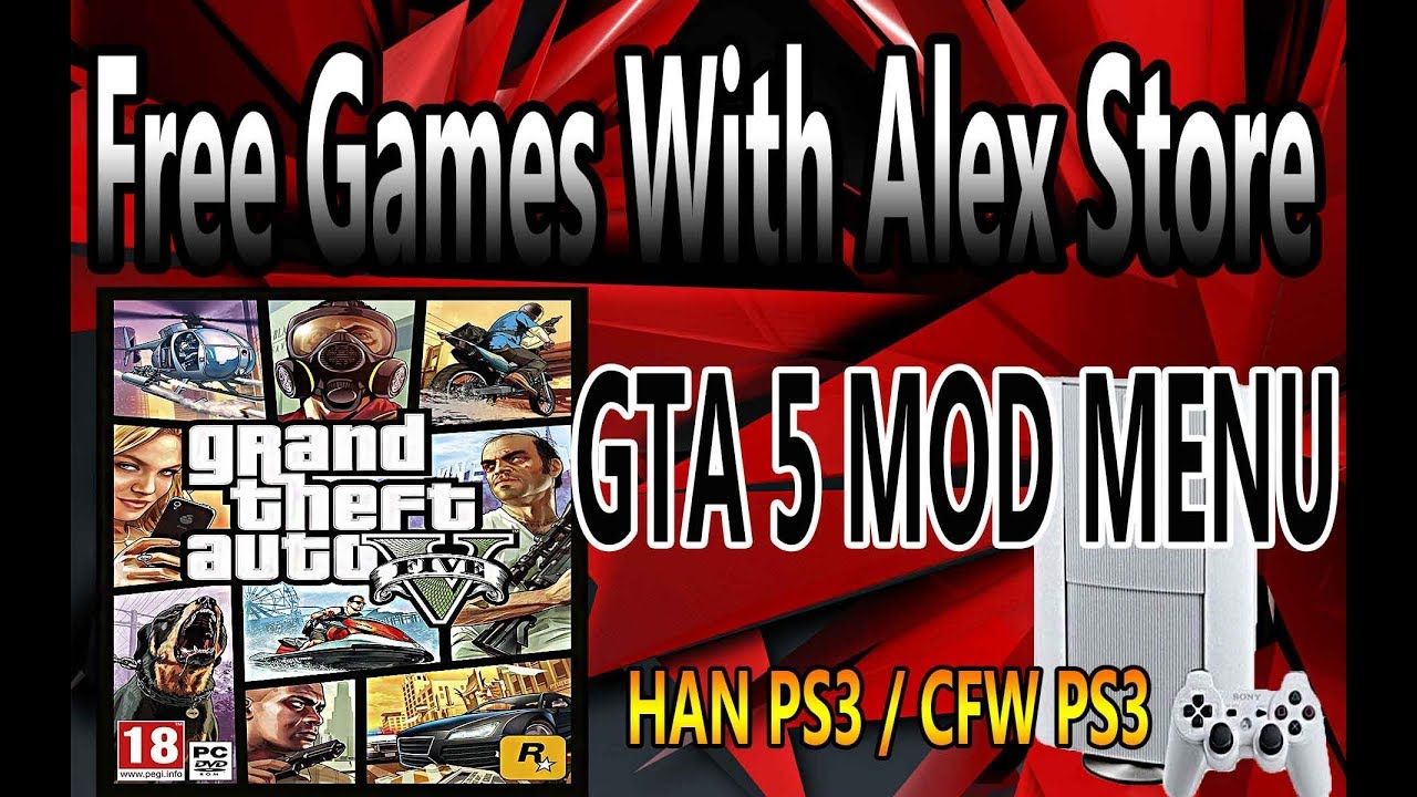 How To Download Free PS3 Games Straight To PS3 And GTA 5 MOD MENU ( HAN PS3  )