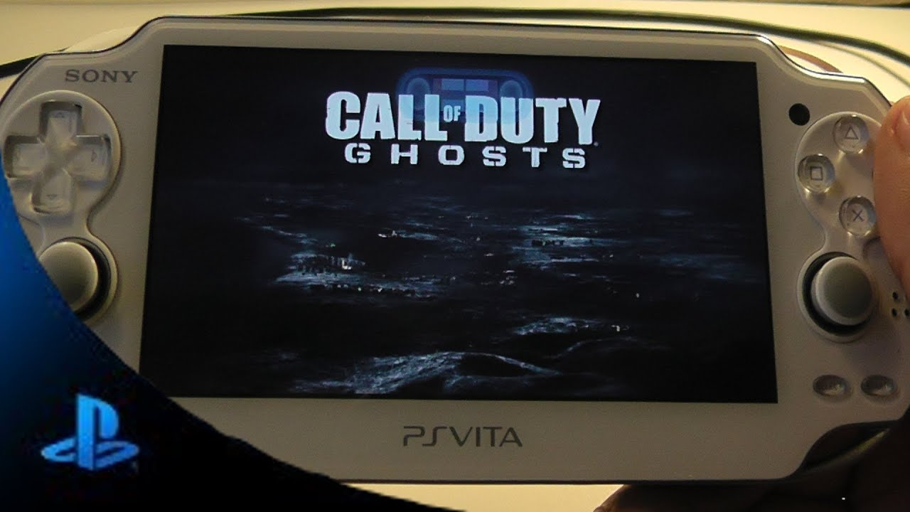 PS4 Testing Remote Play with PS Vita COD Ghost - YouTube