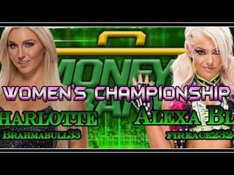 PEW Money In The Bank: Charlotte vs. Alexa Bliss (Women's Championship)