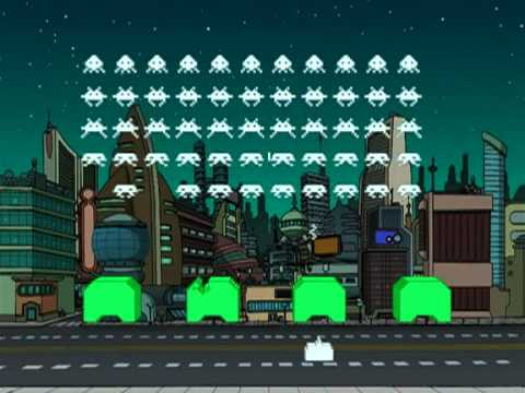 Futurama - Killing Invaders from SPACE