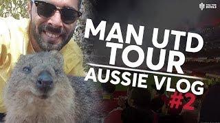 Man United Pre-Season Tour 2019 Vlog #2 | Man Utd 4-0 Leeds United
