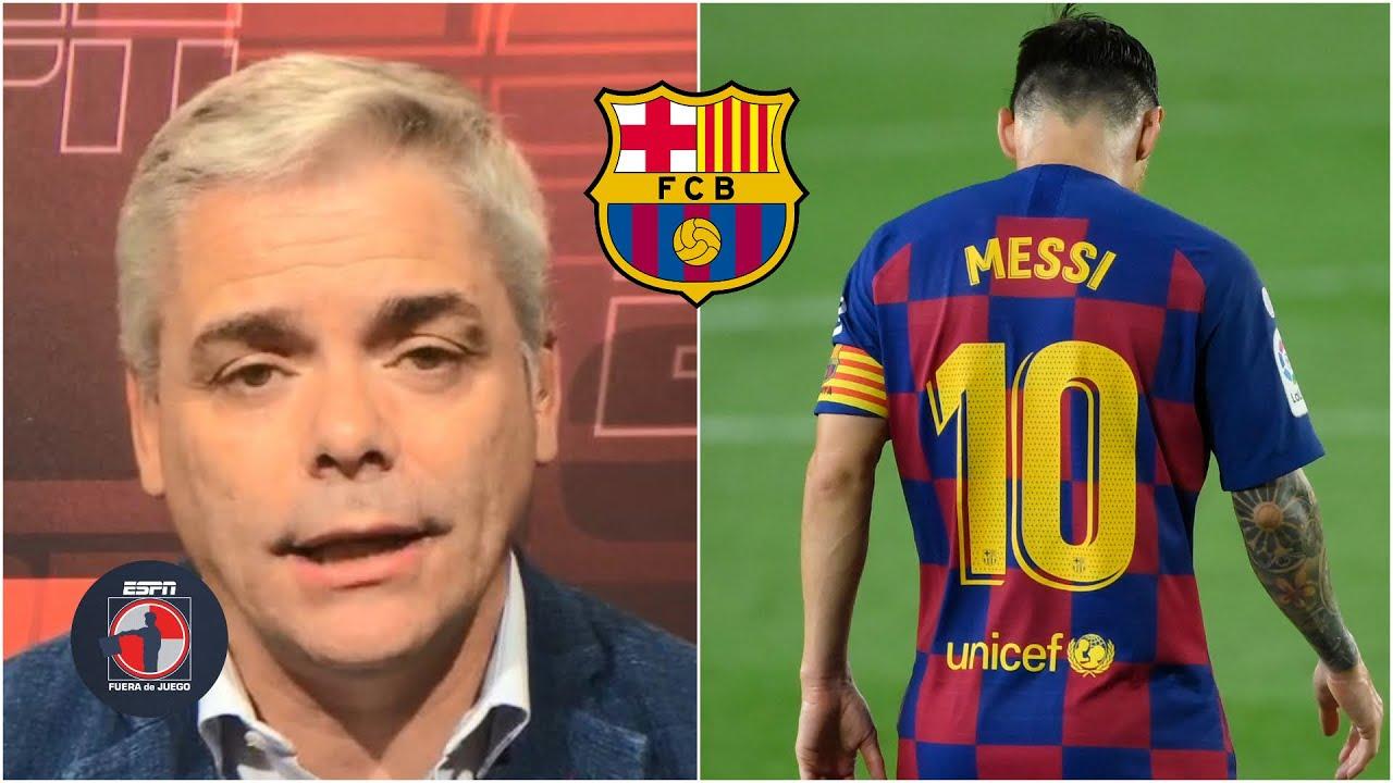 BARCELONA 'Messi se va a marchar. Es el divorcio más GRANDE del mundo': Martín | Fuera de Juego