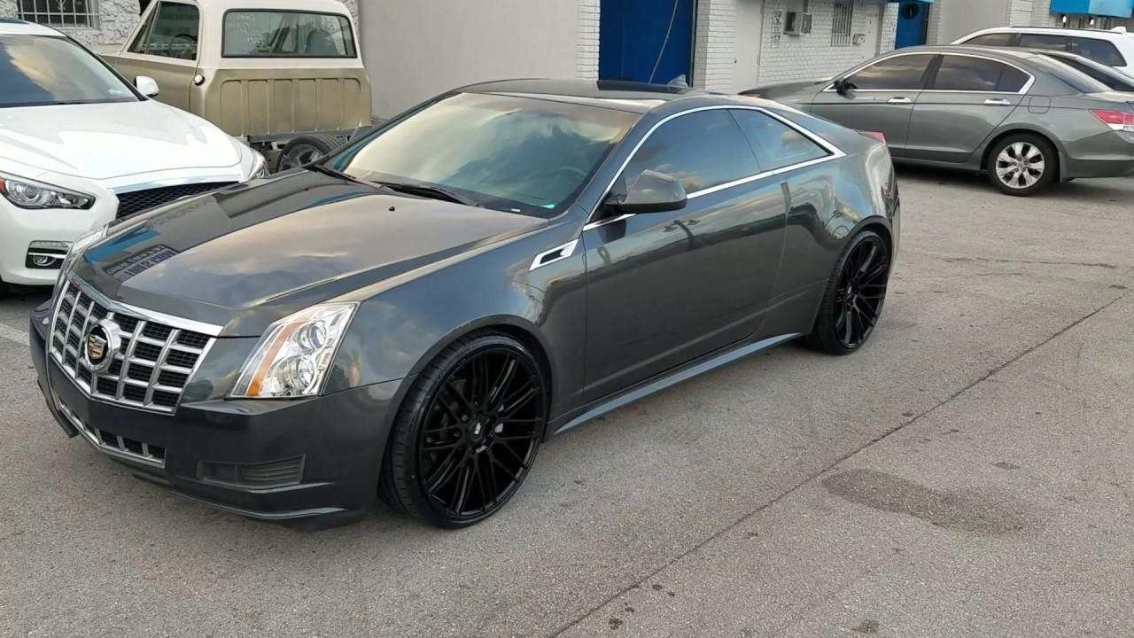 Dubsandtires Com 22 Inch Savini Bm13 Black Rims Cadillac Cts Cts V