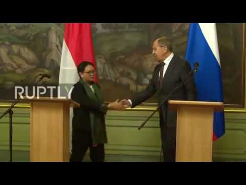 Russia: Indonesia and Russia ready for 'strategic partnership' - Lavrov