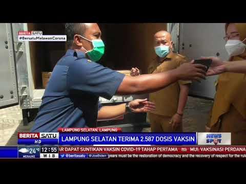 Lampung Selatan Terima 2.587 Dosis Vaksin Corona Sinovac
