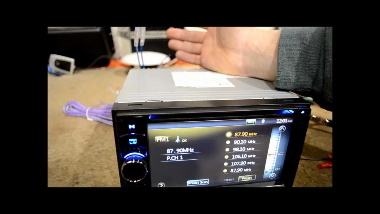 Sony Car Radio Stereo Audio Wiring Diagram Lucas Tractor Ignition Switch Difference Between Amp Turn On And Antenna Remote - Youtube