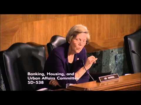 Senator Elizabeth Warren Questions Federal Reserve Chairman Janet Yellen