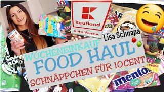 FOOD HAUL | WOCHENEINKAUF | SCHNÄPPCHEN | ANGEBOTE | KAUFLAND | 2019 | LISA SCHNAPA |