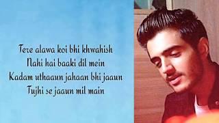 Vaaste Male Version With Lyrics   Sid Rajput   Vaaste Unplugged Cover