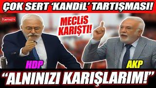 HDP ile AKP arasında çok sert 'Kandil' tartışması! Saruhan Oluç: Alnınızı karışl