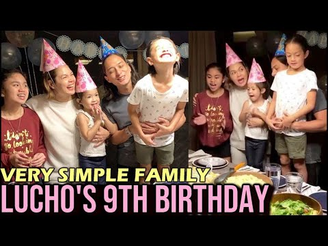 ANAK ni Juday at Ryan na si LUCHO Celebrate 9th Birthday