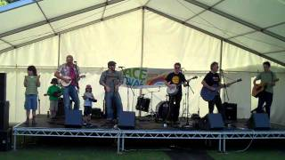King Courgette at York Peace Festival 2010