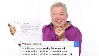 William Shatner Answers the Web's Most Searched Questions | WIRED