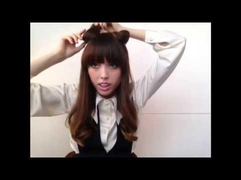 hair cat ears tutorial  cosplay fashion  youtube