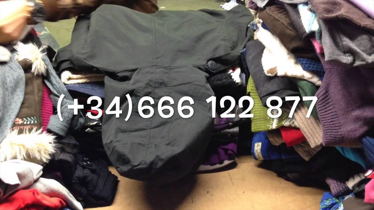 ropa usada empresa almacén zapatos de segunda mano exportación europa del  este - YouTube 607f7bcf82d