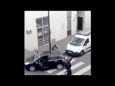 New Amateur Footage Of Charlie Hebdo Terrorist Attack