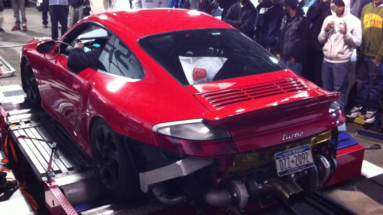1000 HP Porsche Turbo Dyno - YouTube