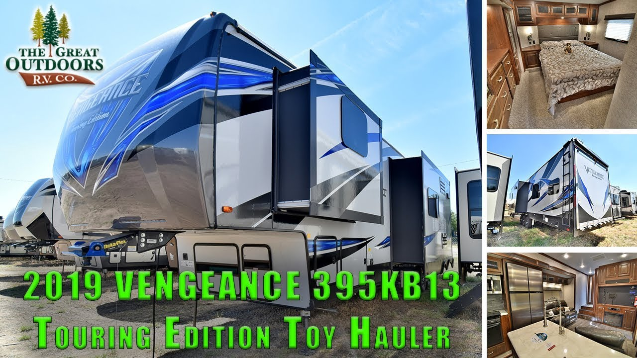 2019 forest river vengeance 395kb13 touring edition fifth wheel toy
