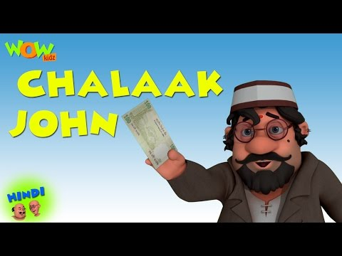 Chalaak John - Motu Patlu in Hindi - 3D Animation Cartoon for Kids -As seen on Nickelodeon