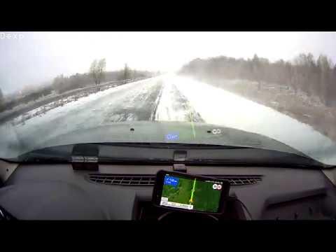 Кемерово - Барнаул (через Ленинск-Кузнецкий, Никитинский) 360 км за 28 минут ;)