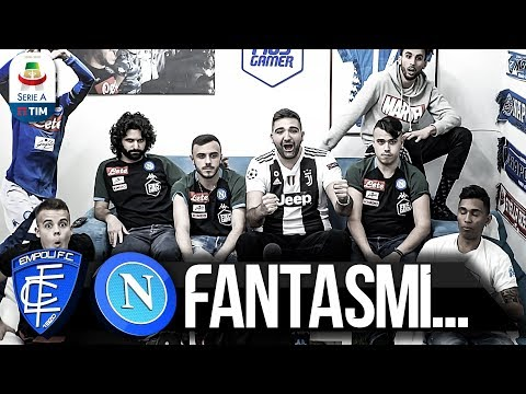 FANTASMI... EMPOLI 2-1 NAPOLI | LIVE REACTION NAPOLETANI HD
