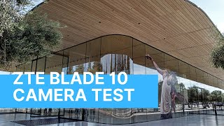 ZTE Blade 10 Camera Test // A Day at Apple Park and 1 Infinite Loop