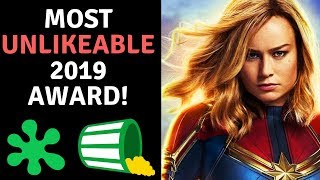 Brie Larson Wins MOST Unlikeable 2019 Award! Avengers Cast Proud!