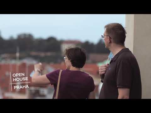 Pozvánka na festival Open House Praha 2021
