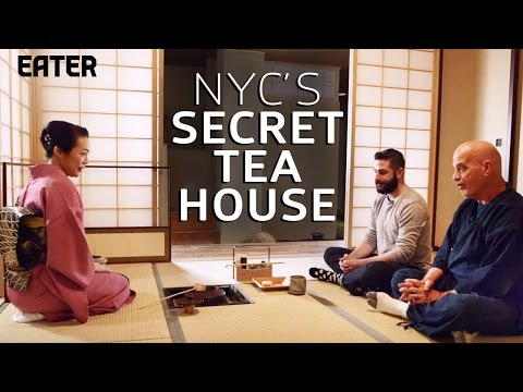 New York City Has One Authentic Japanese Tea House