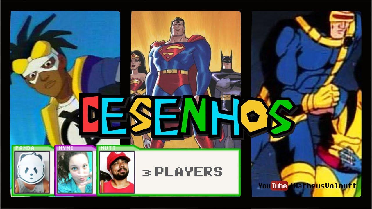 melhores desenhos animados de super herÓis nutt apresenta s01e20