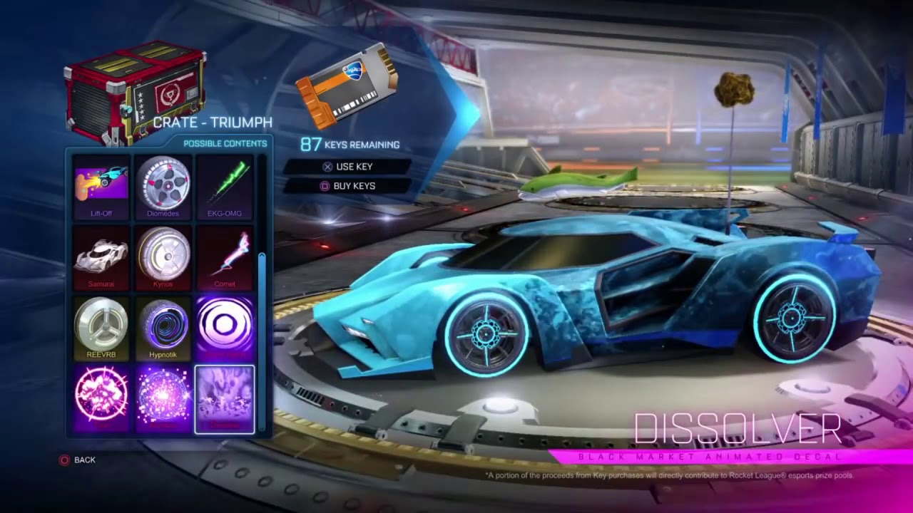 rocket league how to get player crates