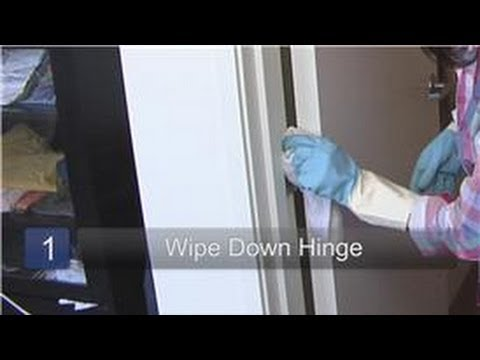 Household Cleaning Tips How To Clean Door Hinges