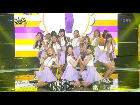 뮤직뱅크 - 우주소녀, 우주에서 왔습니다! 'BeBe'.20160819