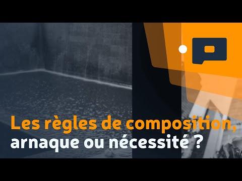 Les règles de composition, arnaque ou nécessité ? (Conférence Panasonic au SDLP 2015)